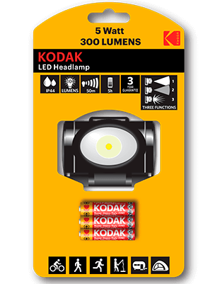 Linterna frontal Kodak HEADLAMP 300