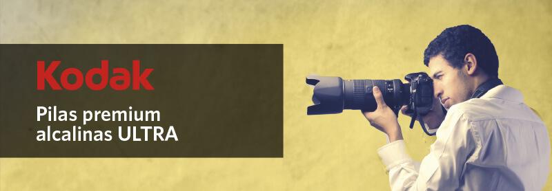 Gama de pilas alcalinas Kodak ULTRA