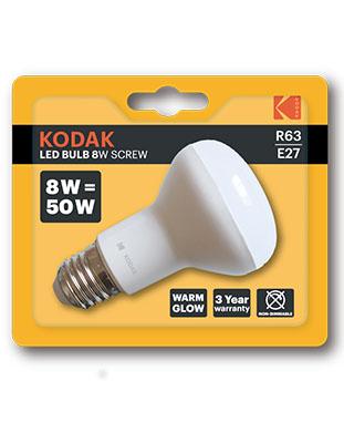 Bombilla Reflectora LED Kodak R63 8W E27
