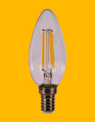 Bombillas de Vela LED Kodak C37