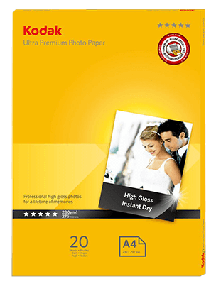 Kodak ULTRA PREMIUM Photo paper 280gsm A4x20
