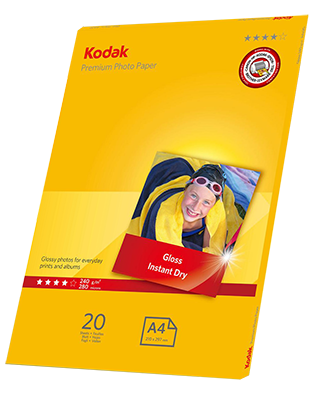 Kodak PREMIUM Photo paper 240gsm
