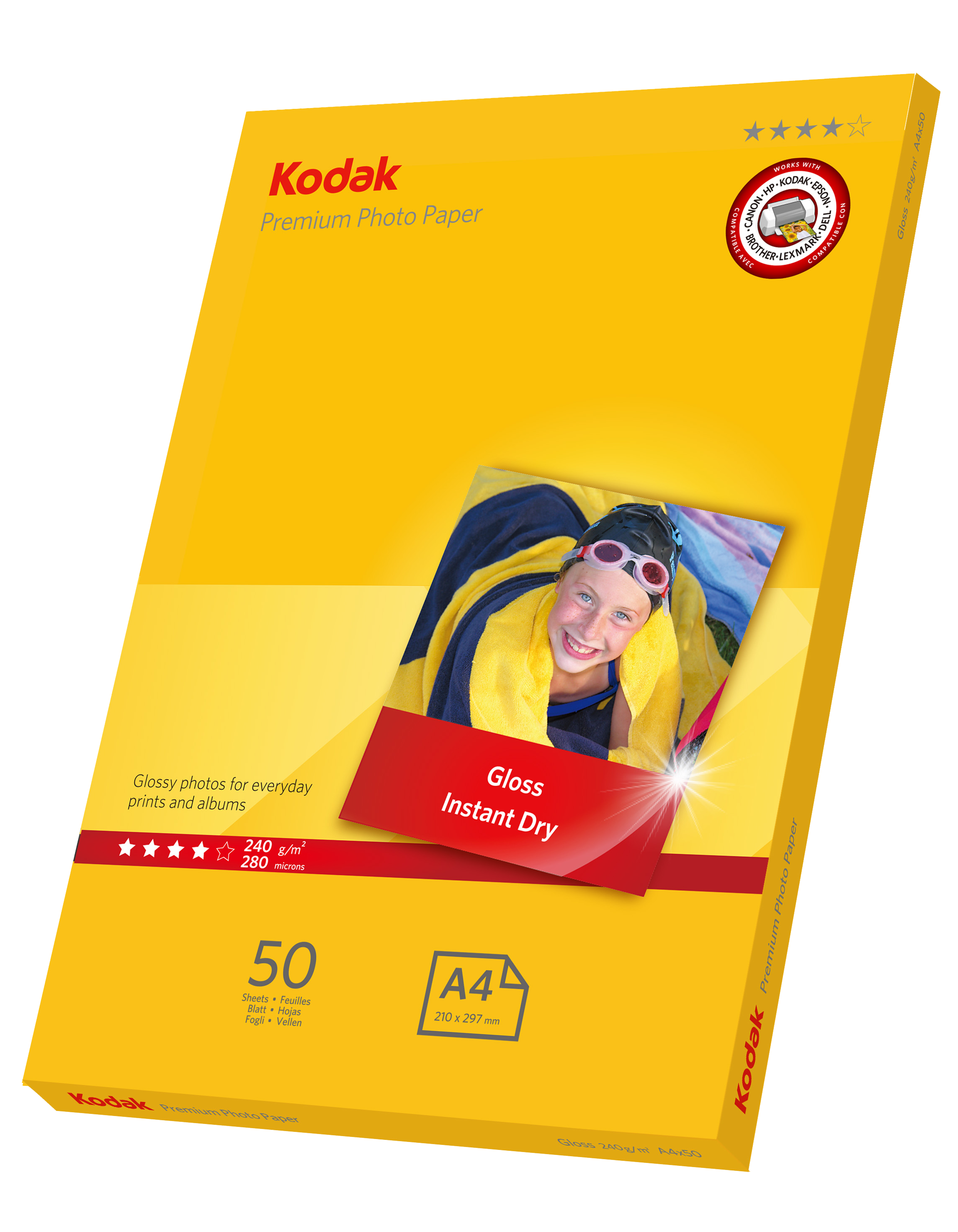 Kodak PREMIUM Photo paper 240gsm A4x50
