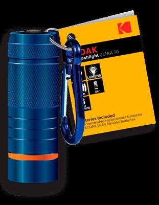Linterna LED compacta Kodak ULTRA 70