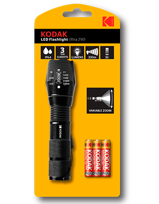 Linterna LED táctica Kodak ULTRA 290