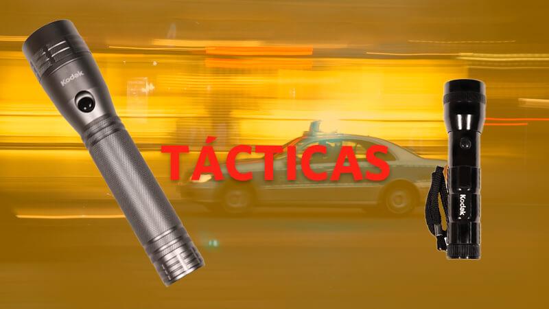 Linternas LED tácticas