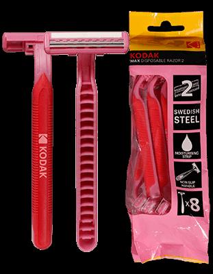 bolsa 10 cuchillas desechables Kodak MAX RAZOR 2